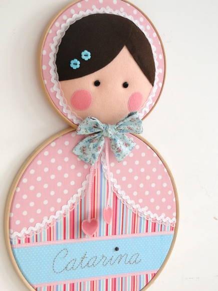quadro porta maternidade 6