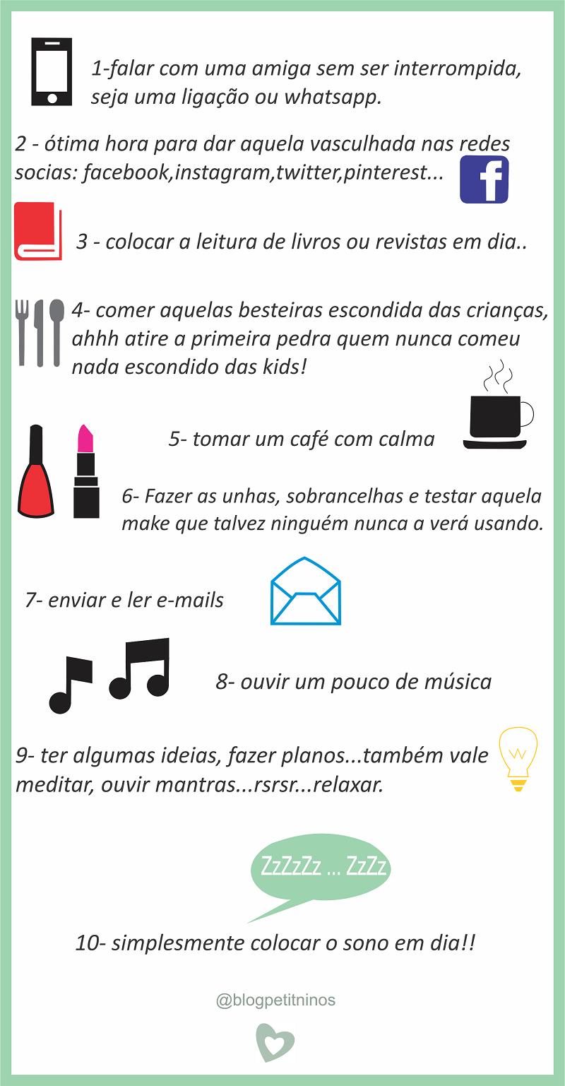 10 coisas de mae