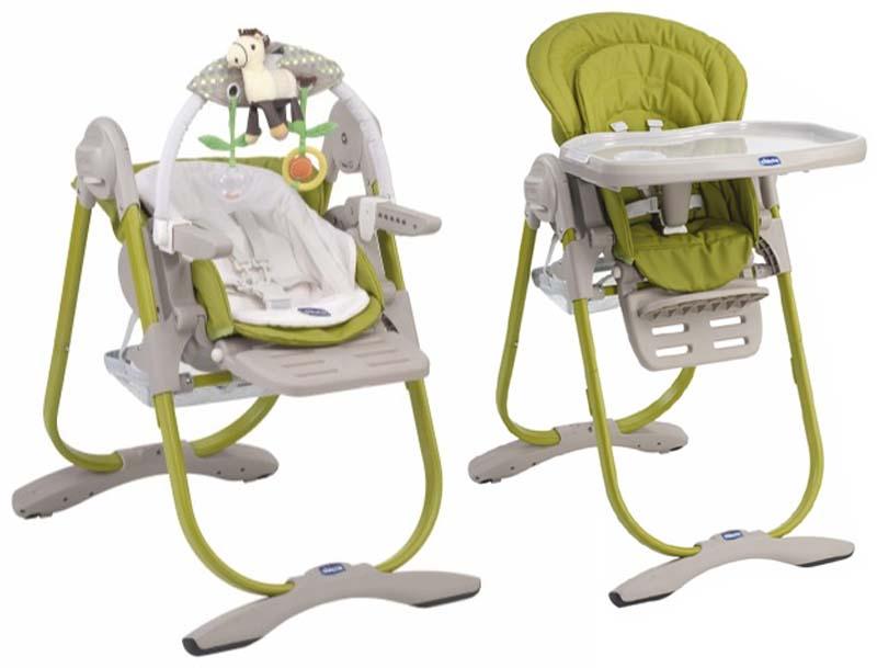 cadeira alimentação chicco_polly_magic_lime_e