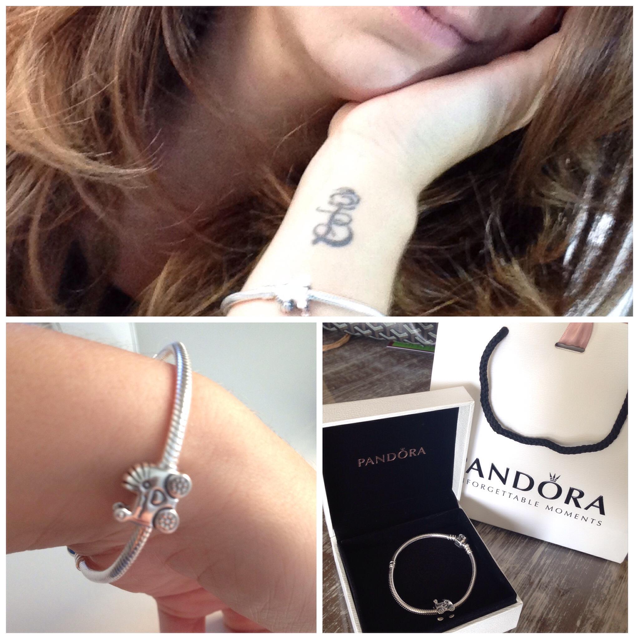 bracelete pandora charm