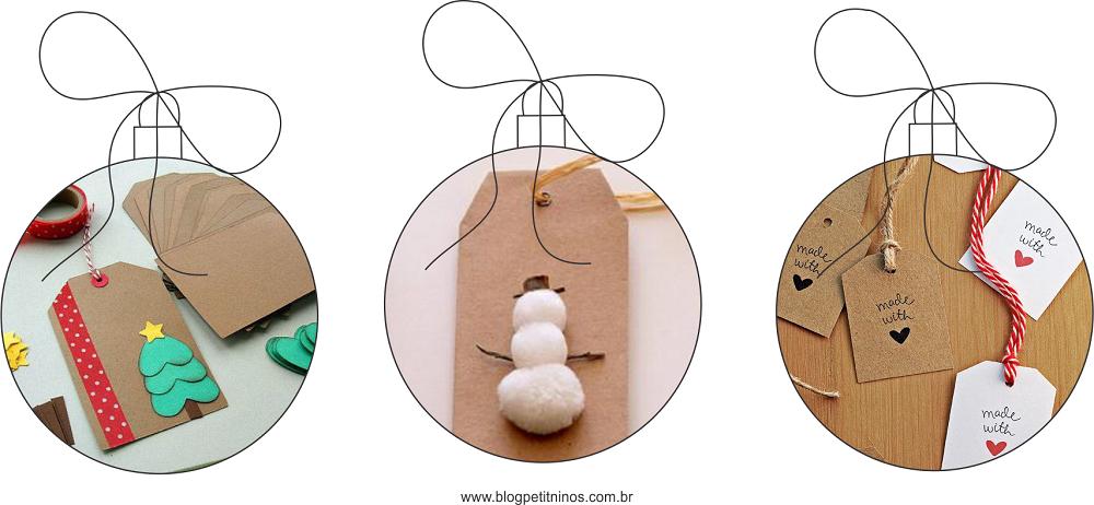 ideias para embrulhar presentes de natal 2