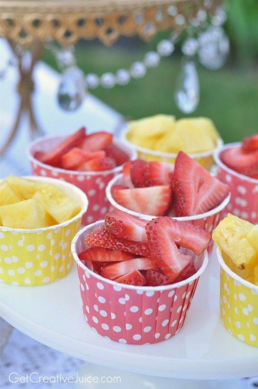 frutas festa infantil 12
