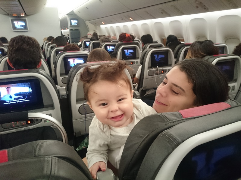 viajando com bebês