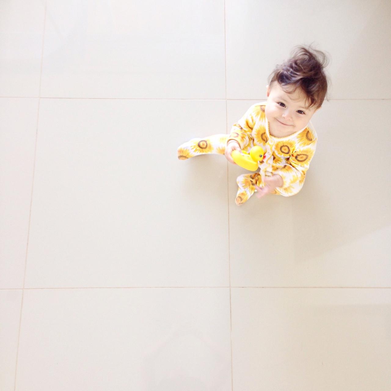 Bebe de oito meses