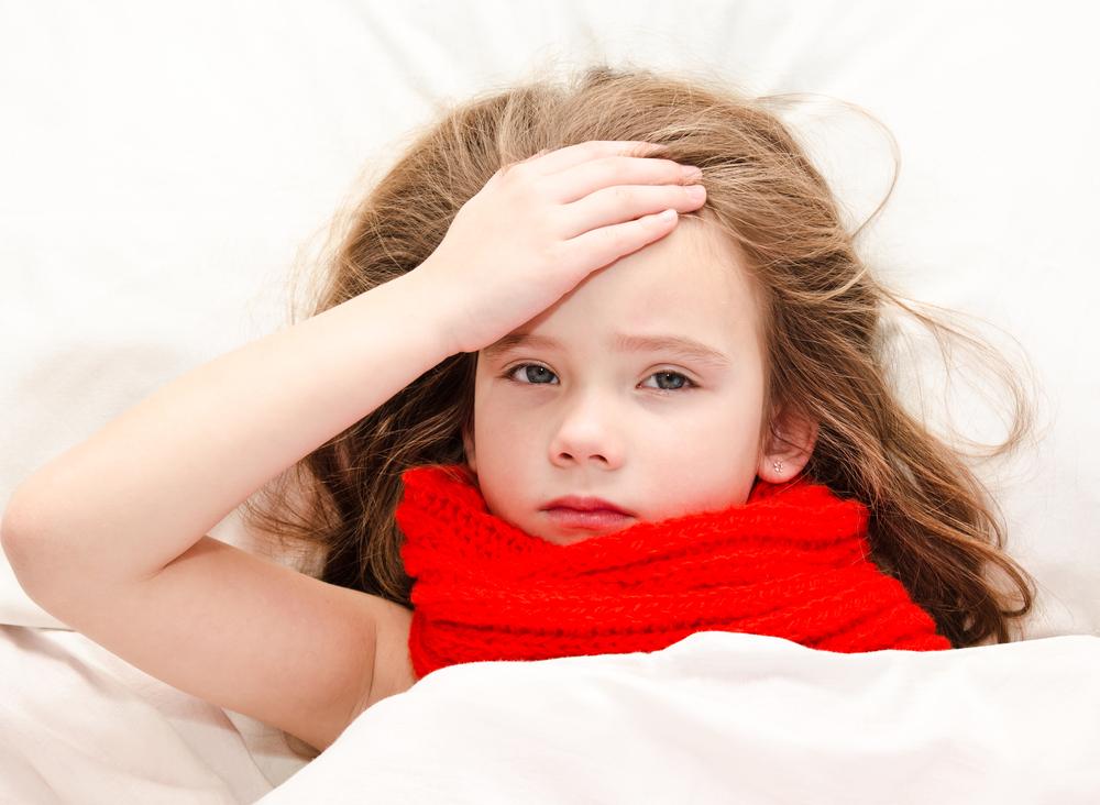 tratamento gripe e resfriado infantil