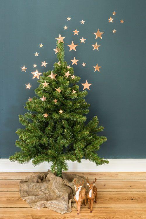 ideias decoração árvore Natal