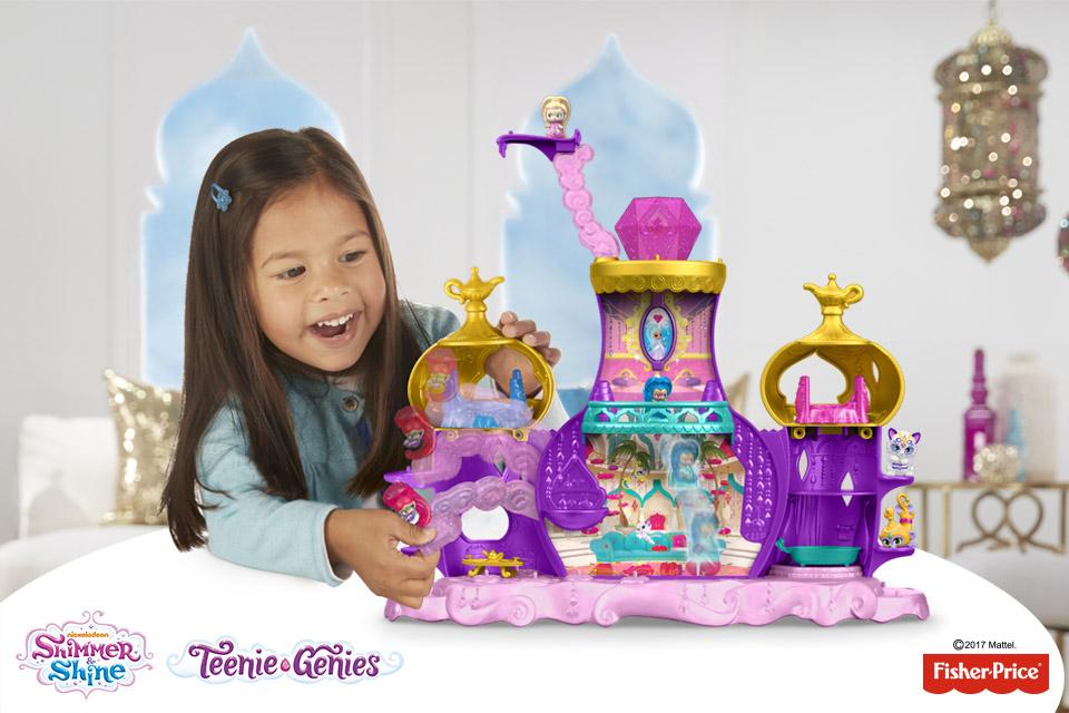 Teenie Genies palacio