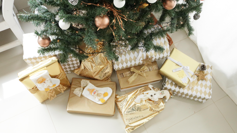 ideias para embalagens de presente de Natal